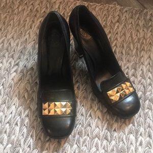 NWOT Black Tory Burch heels